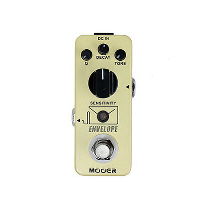 New Mooer Envelope Analog Auto Wah Guitar Effects Pedal!!