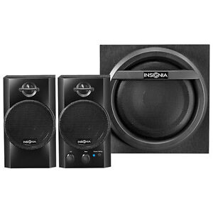 INSIGNIA 2.1 BLUETOOTH SPEAKER SYSTEM WITH SUBWOOFER (32 WATTS)