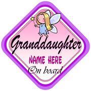 Granddaughter on Board