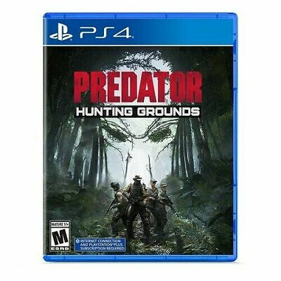 Predator: Hunting Grounds PS4 PlayStation 4 Brand New Sealed
