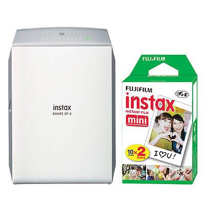 Fujifilm - Instax Share Sp-2 Wireless Printer - Silver