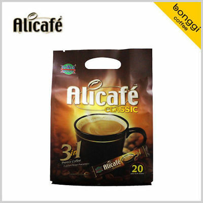 SALE 20T ALICAFE Classic 3 in 1 Instant Coffee Mix Malaysia Exquisite Taste