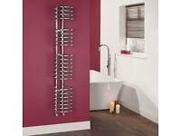 Kudox Loop Towel Radiator 320mm x 1200mm WHITE