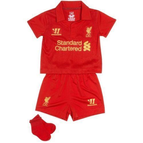 Liverpool Kit History 14: Baby Liverpool Kit