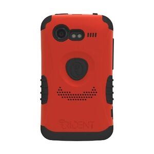 Trident Kraken 2 Case with Holster/Clip for HTC Incredible 2 / S RED