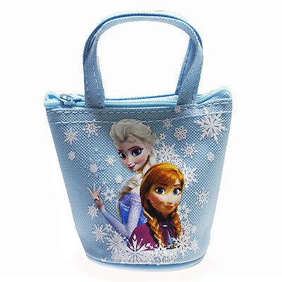 Disney Frozen Elsa and Anna Mini Coin Purse - Blue