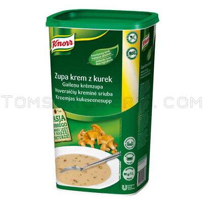 Knorr Creamy - Knorr Professionals Instant Creamy Chantrelle Soup Preparation XXL Box 1kg 35oz