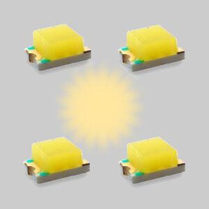 S607-10-pc-SMD-Destello-LED-0805-Blanco-Calido-Intermitente-Luz-de-control-flash
