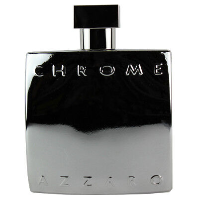 Chrome by Azzaro Men EDT Cologne Spray 3.4 oz. Unboxed NEW