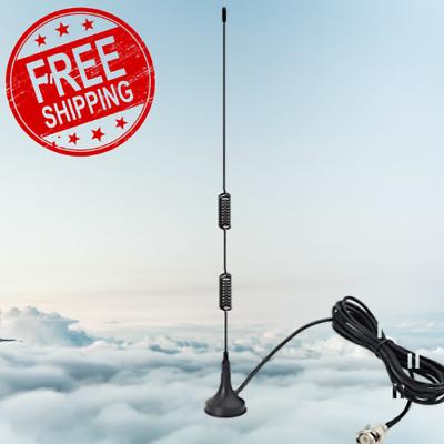 VHF UHF Ham Radio Police Scanner Antenna Amateur Mobile Magn