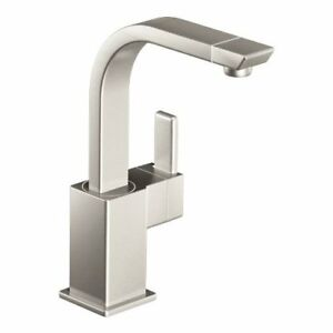 Moen S5170SRS 90-Degree One-Handle High Arc Faucet