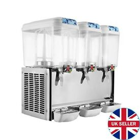 Commercial Juice Dispenser - 3 18L Tanks