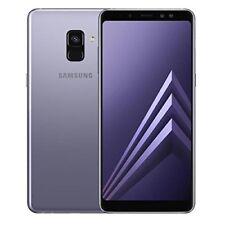 Samsung Galaxy A8 (2018) A530 Dual sim Ram 4Go/32Go Débloqué - Gris Orchidée