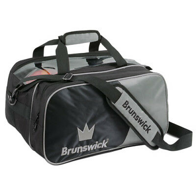 Brunswick Bowling Double Tote w/shoes 2-Ball Bowling Ball Bag - Free Shipping! for sale  Overland Park