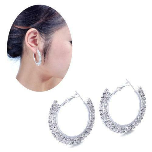 clip on hoop earrings ebay