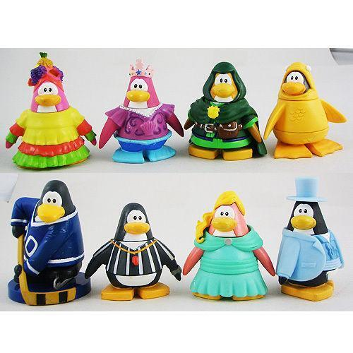 With Toys Penguin Tots : Club penguin figures toys games ebay