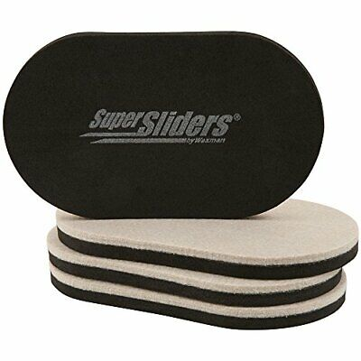 SuperSliders 4705195N Reusable Furniture Movers for Hardwood Floors – Quickly an