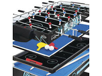 Hy-Pro 5ft 4-in-1 Multi Games Table Football Pool Tennis & Hockey