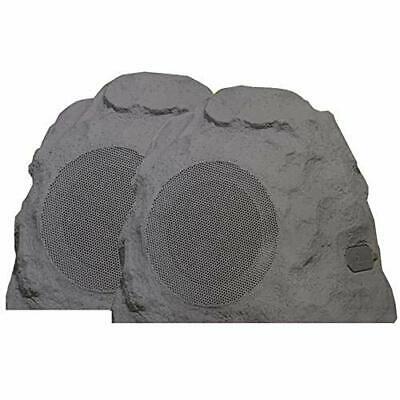 Sylvania 2 pack Wireless Bluetooth Outdoor Rock Speaker IPX5