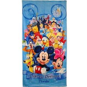 Disney Beach Towel Ebay
