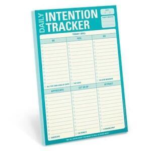 Daily Intention Tracker Pad (2015, Taschenbuch)
