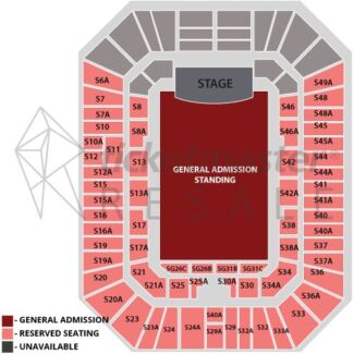 Maroon 5 tickets: 2 tickets together, Section 8A, row A!!! Boondall Brisbane North East Preview