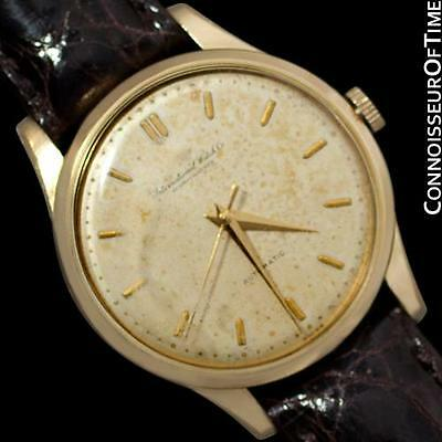 1961 IWC Vintage Mens Watch, Cal. 853 Automatic with Date - 18K Gold Filled