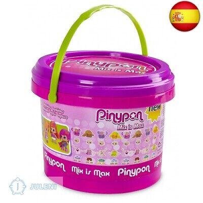 Pinypon Cubo Mix Is Max con 5 figuras Famosa 700013810 5 figuras (5 figuras)