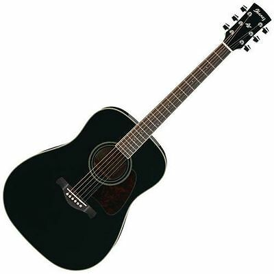 Ibanez Arwood Series Acoustic Guitar (Black) ** NEW IN BOX **