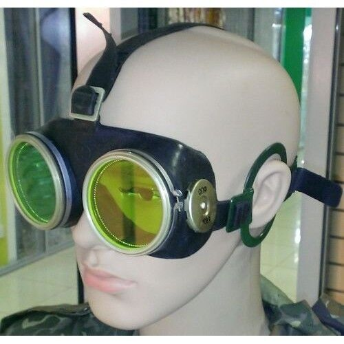 OPF nuclear bang protection googles, USSR, protection glasses military, rare