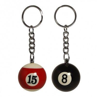 16x Billard Schlüsselanhänger Schlüssel Anhänger Billardkugel Massiv Kugel 529