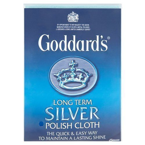 "Jewellery - Goddards Silver Jewellery Polish Polishing Cleaning Clean Cloth Large 12"" x 17"""