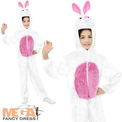 Fairytale Costumes For Boys (Easter Bunny Rabbit Kids Fancy Dress Fairytale Book Day Boys Girls Child)