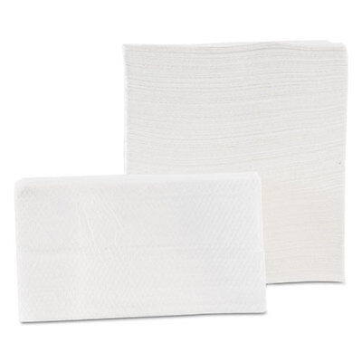 Morcon Paper Tall-Fold Napkins 1-Ply 7 x 13 1/2 White 500/Pack 20 Packs/Carton