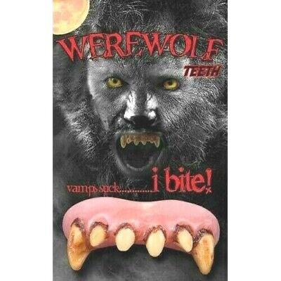 Billy Bob Hombre Lobo Beast Colmillos Halloween Adulto Prostético a Medida](Hombre Lobo Halloween)