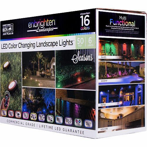 seasons led color changing landscape lights 6