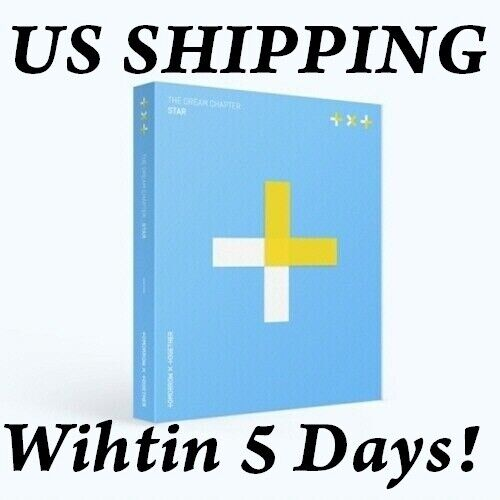 [US SHIPPING] TXT The Dream Chapter:Star CD+Photobook+PhotoCard+etc+Track