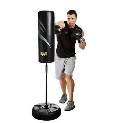 Everlast Boxing Equipment Freestanding Cardio Strike Bag Punching Kickboxing MMA