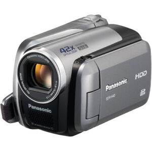 Panasonic Hybrid 40GB Hard Disk/SD card video Camera