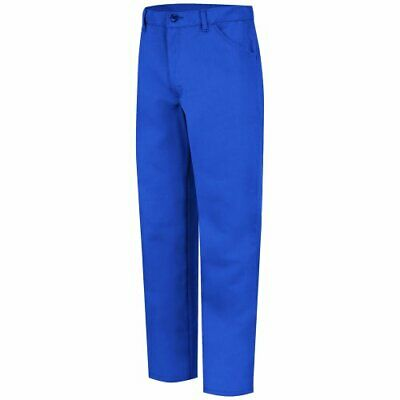 Bulwark Flame Resistant 7.5 Oz Twill Nomex Iiia Mens Jean-style Pant With But...