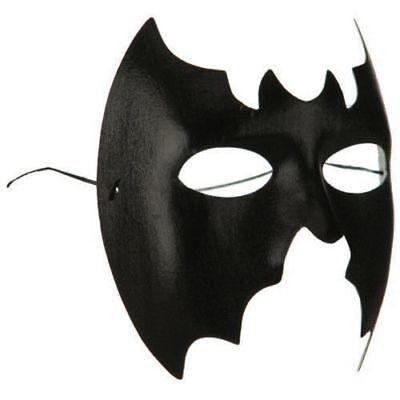 Mardi Gras Girl Costume (Bat Bat girl Mask Masquerade Punk Goth Rave Venetian Eye Mardi Gras Costume)