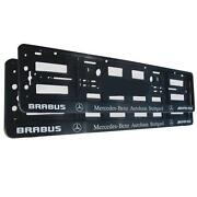 AMG Number Plate Surround