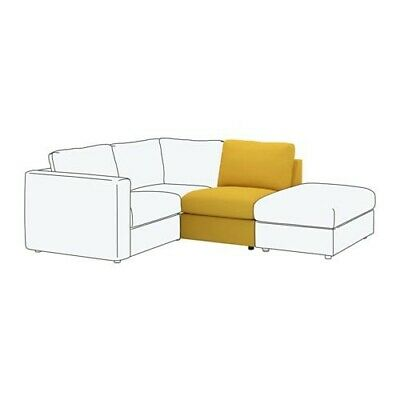 Ikea Vimle One 1 Seat Section Cover, Grasbo Golden-Yellow 503.534.43