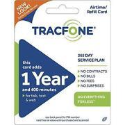 Tracfone Prepaid Card