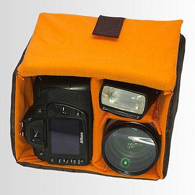 HORUSBENNU DSLR SLR Mirrorless RF Traveler Camera Tripod M-2531T Orange with Case