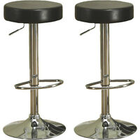 Monarch Hydraulic Bar Stool - 2 Pack - Dark Brown. New in Box
