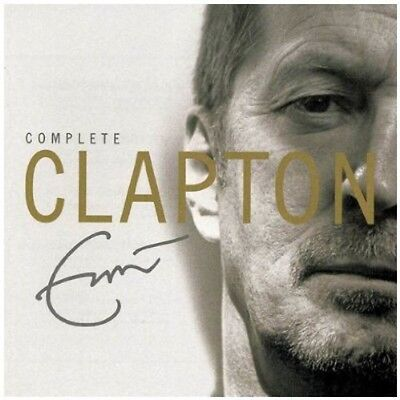 Eric Clapton   Complete Clapton  New Cd  Holland   Import