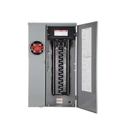 Square D 200 Amp Load Center Main Breaker Panel Meter 42-circuit 42-space Solar