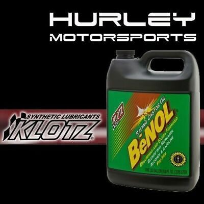 Klotz BC-171 BeNOL 2-Cycle/Stroke Racing Castor Oil - Gallon - Qty (4)