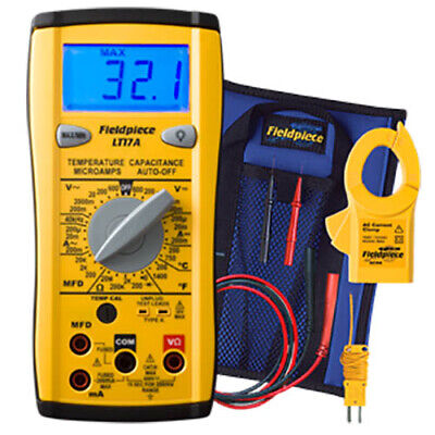 Fieldpiece Lt17a Digital Multimeter Wtemp Mfd Microamps Freq
